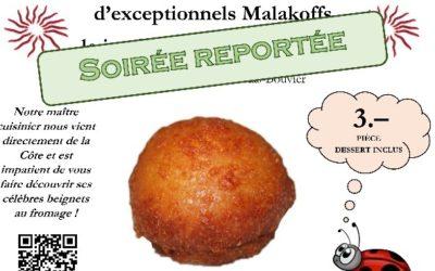 Soirée Malakoff